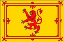SCOTLAND LION - MINI FLAG 22.5cm x 15cm